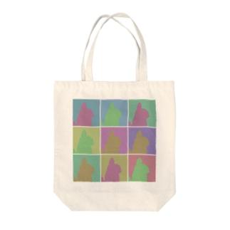 エディズデイズ チンチラ Tote bags