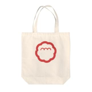 エンエンラ シンボルロゴ(赤) Tote bags