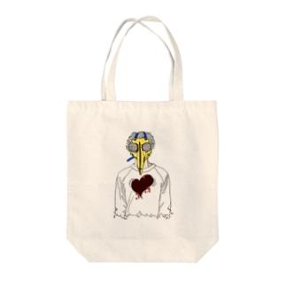 トクメイ社会 Tote bags
