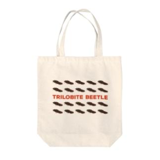 サンヨウベニボタル Tote bags