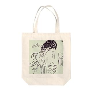 🍅ラクガキ🍅 Tote bags
