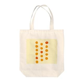 3つのオレンジが、濃い。 Tote bags
