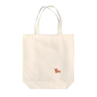 水彩画の犬  Tote bags