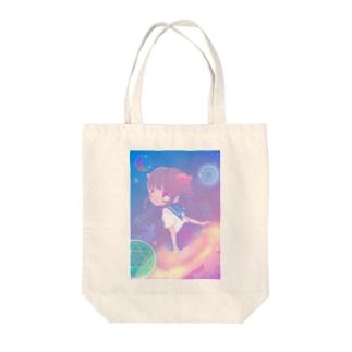 宇宙召喚少女 Tote bags