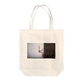 エモ 原宿系 ドライフラワー  Tote bags