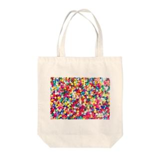 パーラービーズ(長方形) Tote bags