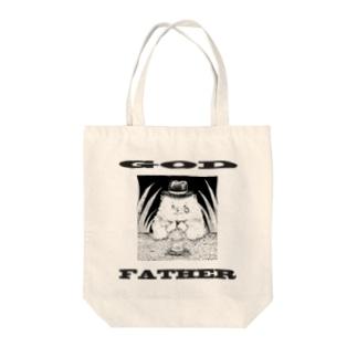 ゴッドファーザーなポメラニアン Tote bags