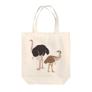 AWZ ダチョウ&エミュー Tote bags
