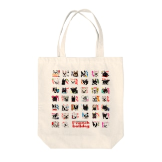 1★Frenchbulldogfamily★ Tote bags