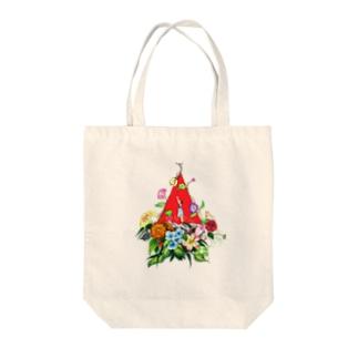 ゆりかご Tote bags