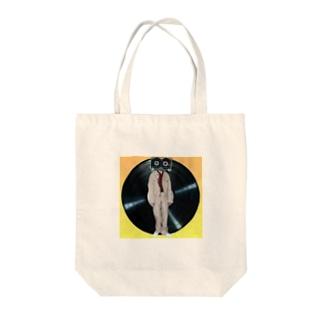 カセット男 Tote bags