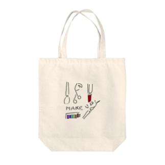 筑紫血眼姉妹 Tote bags