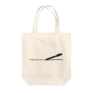 日常にユーモアを。 Tote bags