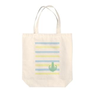 ジェラートラテアート /パイナップル×ブルーハワイ Tote bags