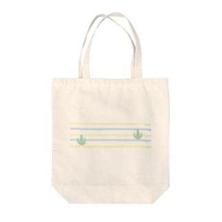 Prism coffee beanのジェラートラテアート~Landscape~ /パイナップル×ブルーハワイ Tote bags