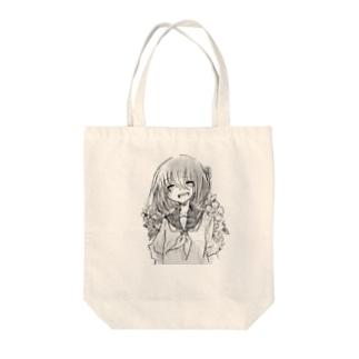 笑って Tote bags