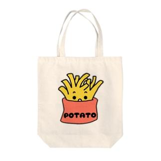 食べたくなるポテト Tote bags