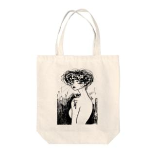 七月 Tote bags