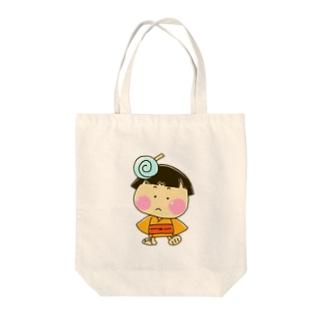 みやこちゃん Tote bags
