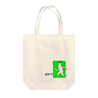 EXIT。 Tote bags