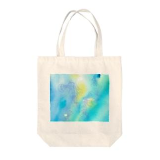 ギヤマンハナクラゲ Tote bags