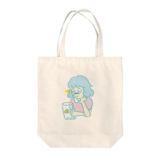超能力少女 Tote bags