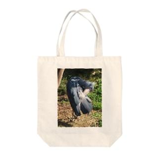 ハシビロさんの身仕度 Tote bags