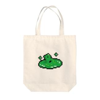Bad Status Tote bags