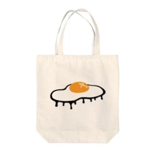 たれめだまやき Tote bags