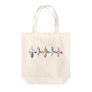 Happyを運ぶ羽 Tote bags