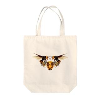 オオスズメバチ Tote bags