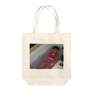 潜水ベイベ Tote bags