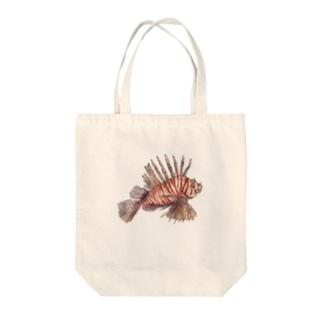 ハナミノカサゴ Tote bags