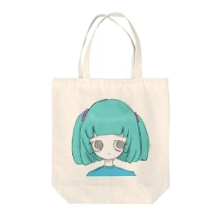 自殺未遂水ちゃん Tote bags