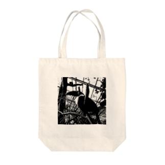ひとやすみ Tote bags