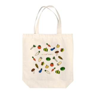 vegetable-野菜イラスト Tote bags