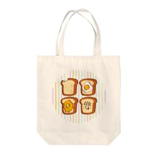 いろんなトースト Tote bags