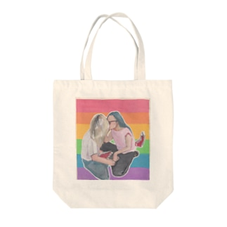 L stands for LOVE Tote bags