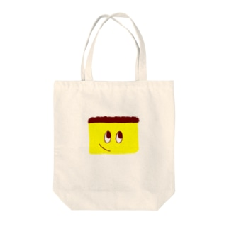 かすてらさん Tote bags