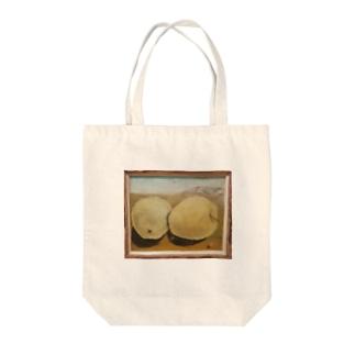 big apples Tote bags