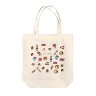 sweets-お菓子イラスト Tote bags