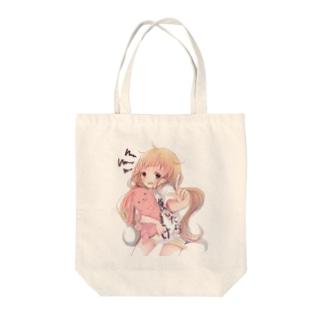 杏ちゃん Tote bags