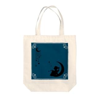 星に思う Tote bags