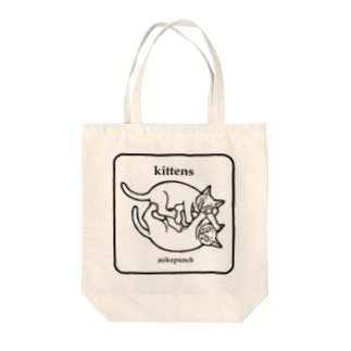 kittens あそぶ子猫さん Tote bags