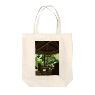 緑豊かな所 Tote bags