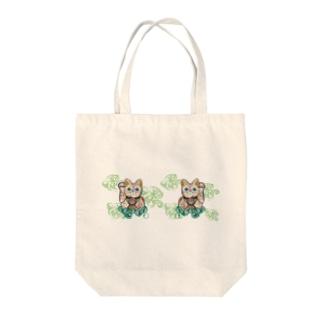 よくばり招き猫 Tote bags