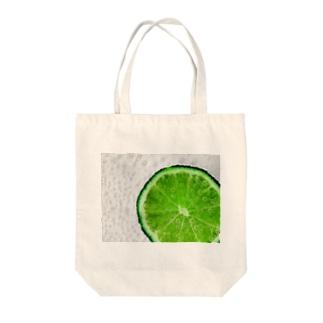 しゅわしゅわライム Tote bags