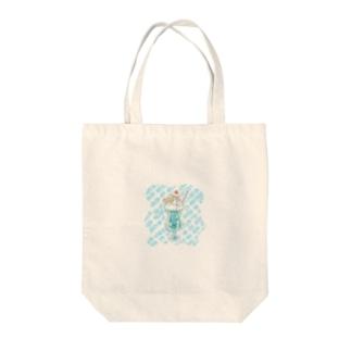 人魚inメロンソーダ Tote bags