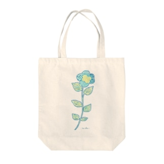 blueflower Tote bags