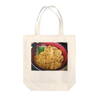 雲丹 Tote bags